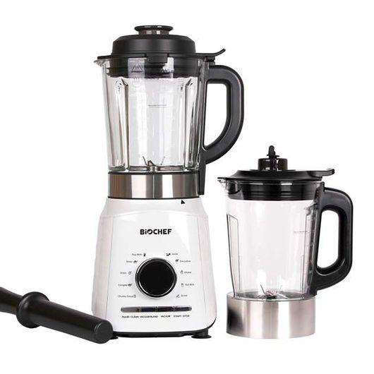 Accessories of the BioChef Aurora Vacuum Blender & Soup Maker