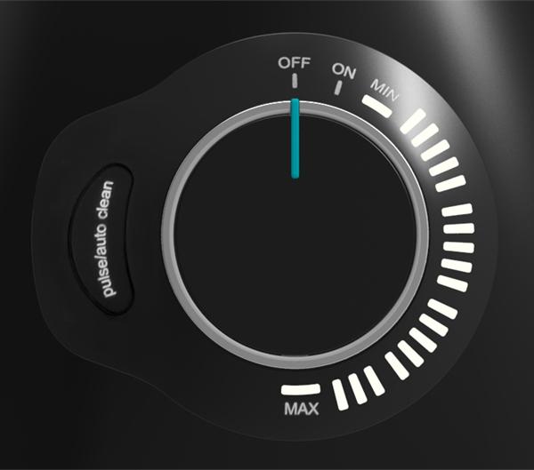 BioChef Galaxy blender manual speed dial